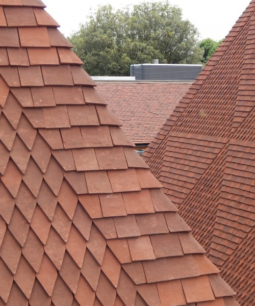 Tudor Roof Tile Co. for their Bespoke Handmade Clay Roof Tiles