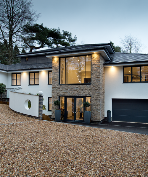 Darren Crain, Chewton Bespoke Homes for Golflinks Road, Ferndown project
