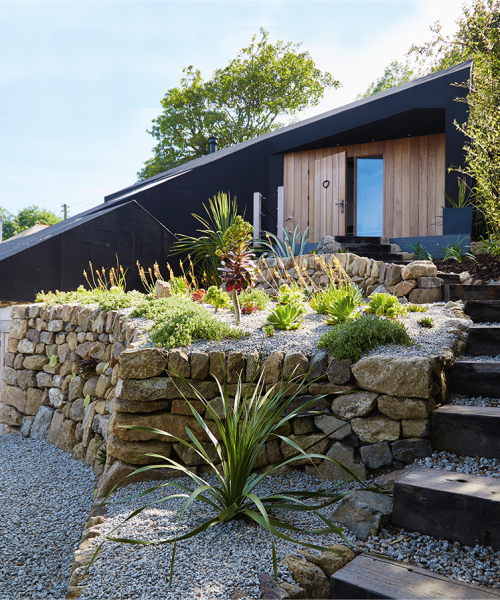 Jane & Mark Caterer for their stunning self build on a sloping plot